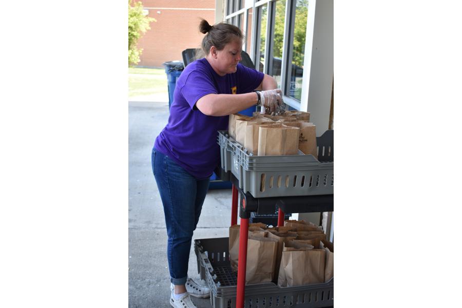 Schools, food pantries continue meeting needs