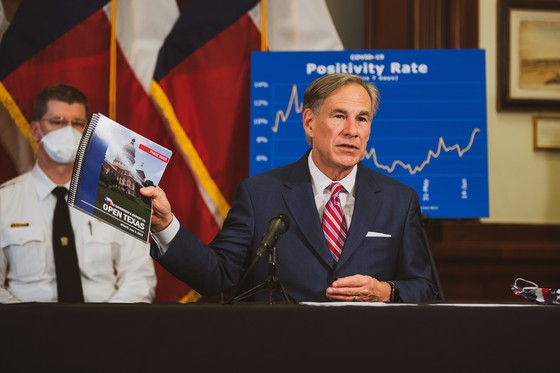 Governor Abbott announces temporary pause of additional reopening phases
