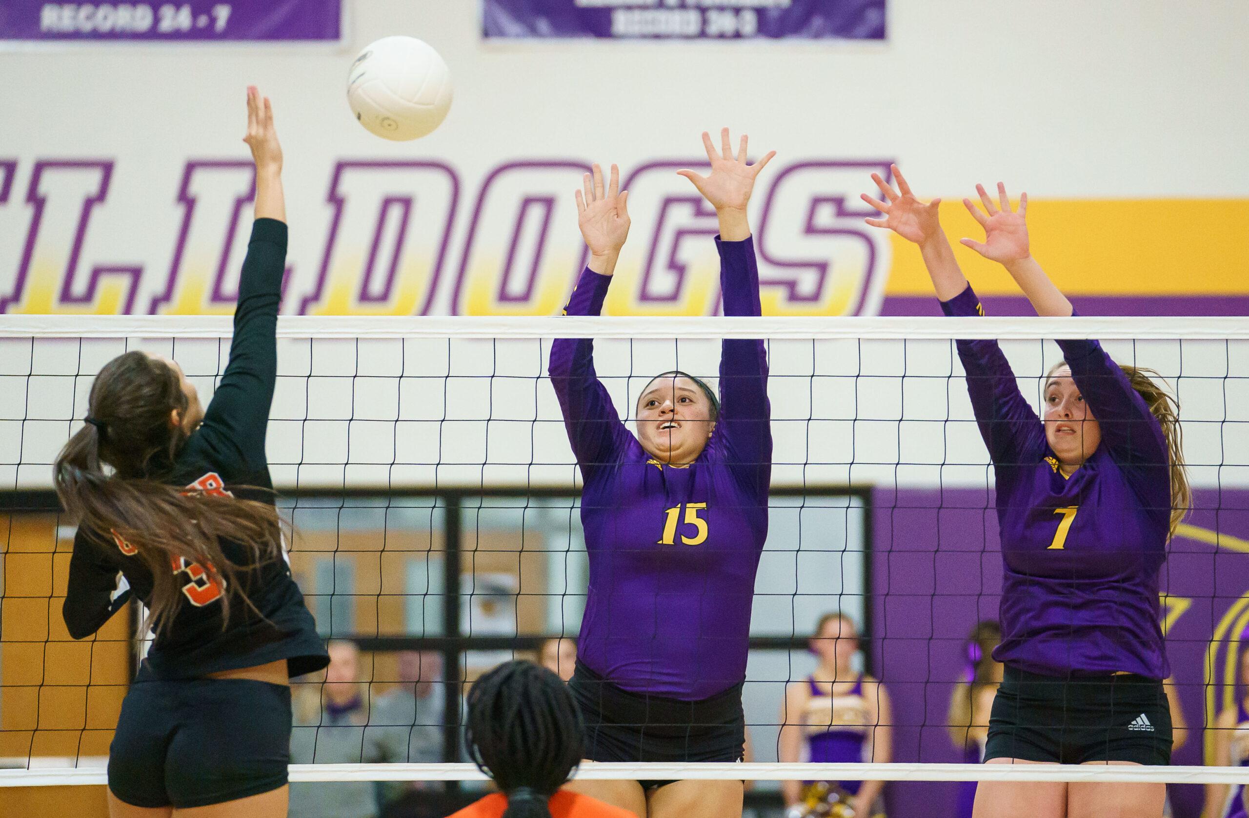 Farmersville starts 2020 among best 4A volleyball teams