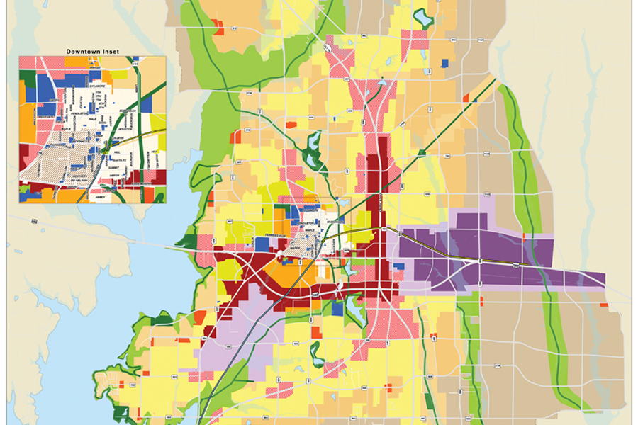 Long-range planning for the city's future