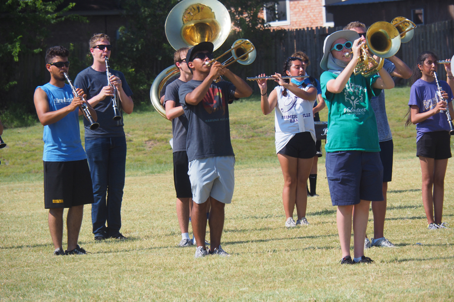 FHS marching season begins