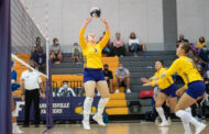 Volleyball keeps undefeated streak alive, still ranked fourth in coaches poll