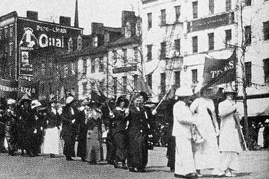 100 years of women's right to vote