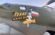 Warbirds displayed at McKinney Airport