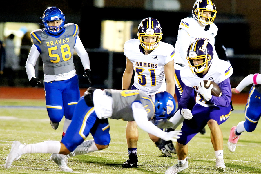 Farmersville to face Sunnyvale in season finale