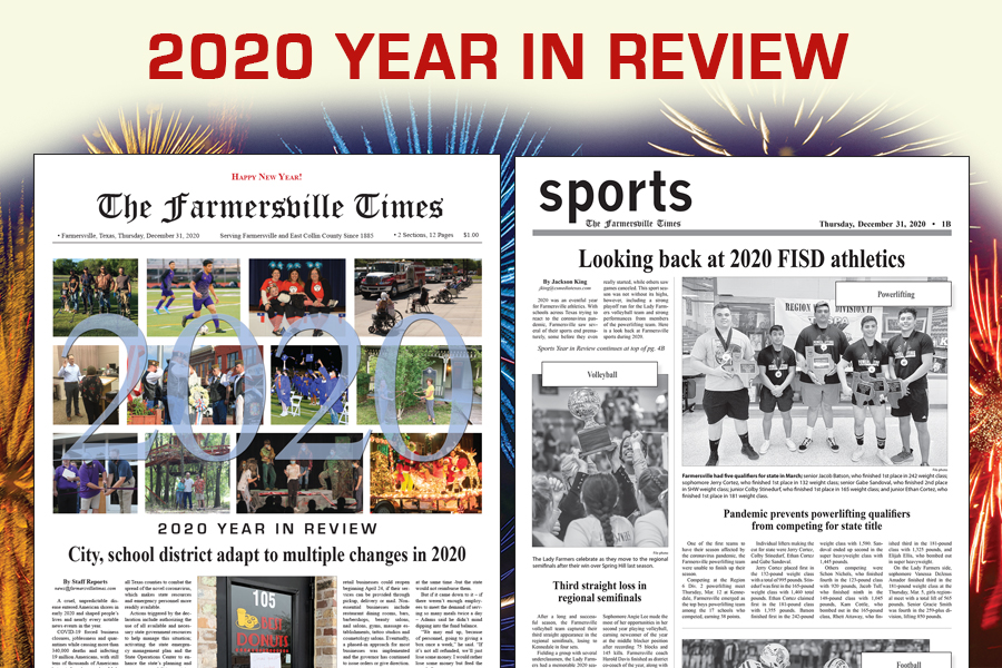 Farmersville Sports: 2020 Year in Review