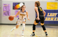 Girls basketball lights up scoreboard against Collinsville
