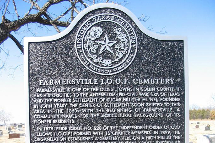 Date set for cleanup of historic IOOF Cemetery