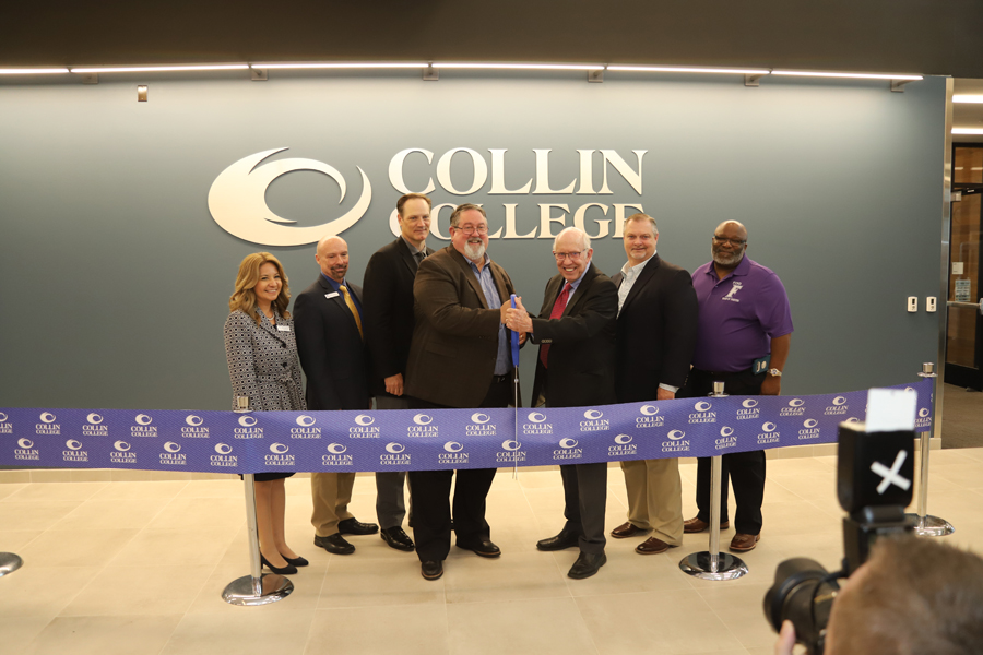 Collin officially opens to serve Farmersville
