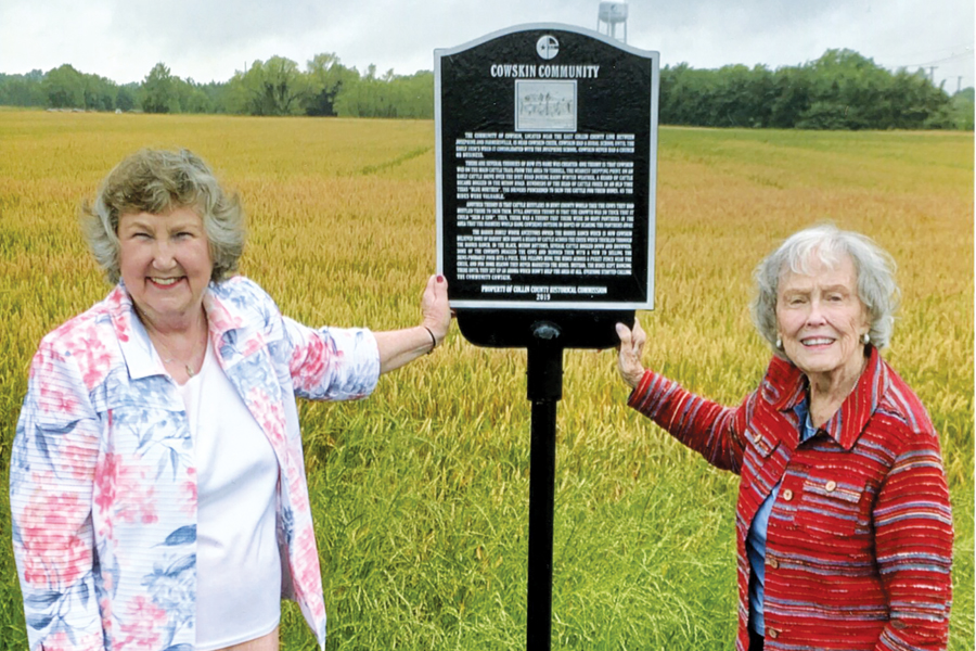 Historical markers unveiled