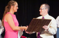 Farmers receive awards for athletic achievements