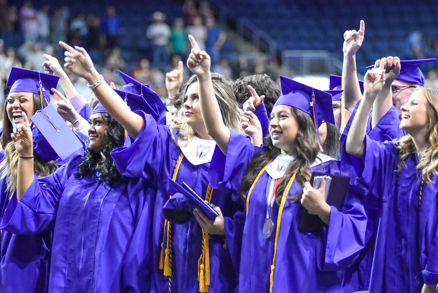 FHS graduates walk the stage