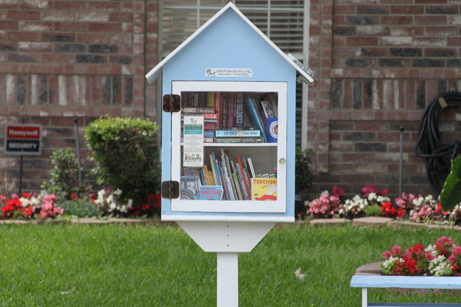 Little Free Libraries promote reading