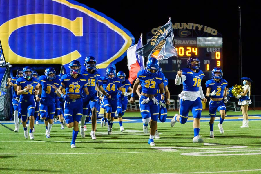 Braves' 2021 football schedule gives hope for playoff return