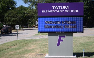 New principal at Tatum Elementary