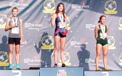 Morgan Lamberson finishes summer with gold medal