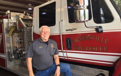 Longtime fire chief plans October retirement